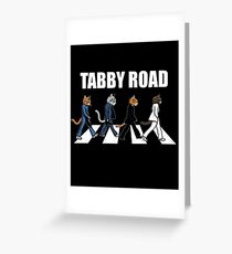 Tabby Road | Cool Cats  Greeting Card