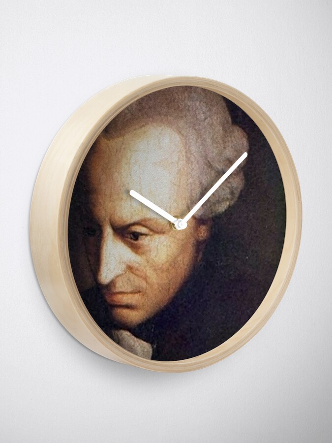 Alternate view of Immanuel Kant  Clock