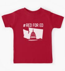 Red for Ed  Kids Tee