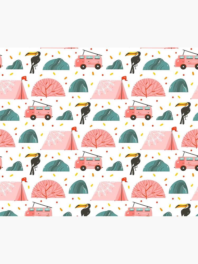 Summer days pattern by Anastasy-Helter