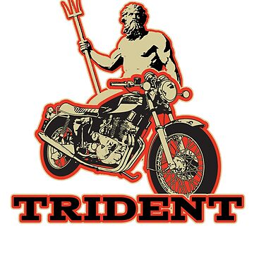 Truimph Trident by limey57
