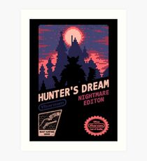 HUNTER'S DREAM (INSIGHT) Art Print