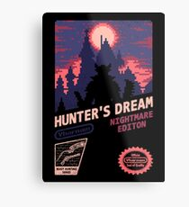 HUNTER'S DREAM (INSIGHT) Metal Print
