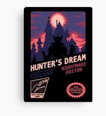 HUNTER'S DREAM (INSIGHT) Canvas Print