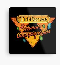 HYRULE CHAMPIONSHIPS Metal Print