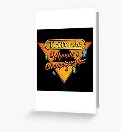 HYRULE CHAMPIONSHIPS Greeting Card