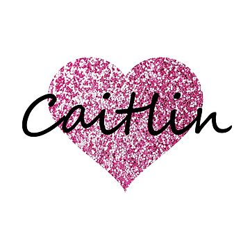 Caitlin Pink Heart by Obercostyle