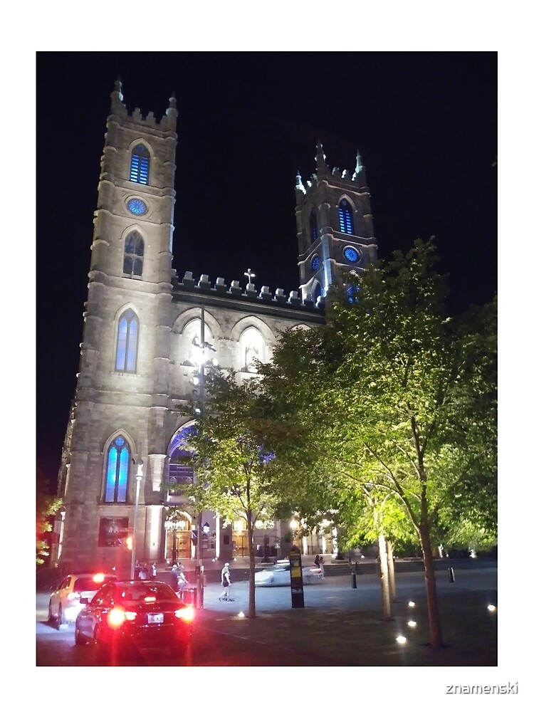 Montreal, #Montreal #City, #MontrealCity, #Canada, #buildings, #streets, #places, #views, #nature, #people, #tourists, #pedestrians, #architecture, #flowers, #monuments, #sculptures, #Cathedral by znamenski