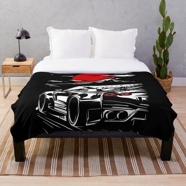 Nissan GT-R Nismo Haruna Throw Blanket