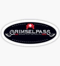 Grimsel Pass Switzerland T-Shirt & Sticker Sticker