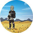 Dengar Star Wars bounty hunter by Airmatti