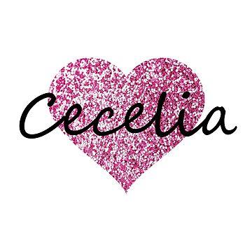Cecelia Pink Heart by Obercostyle