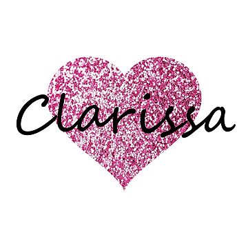 Clarissa Pink Heart by Obercostyle
