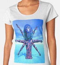 Alien Sculpture Women's Premium T-Shirt