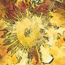 Sunflower Modern Art by gelibolu
