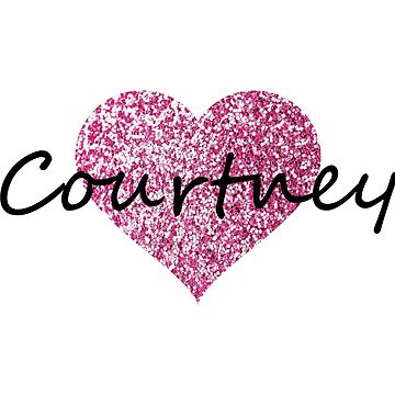 Courtney Pink Heart by Obercostyle