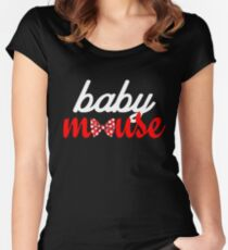Baby Mouse  Women's Fitted Scoop T-Shirt