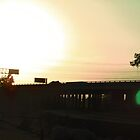The Freeway At Sunset by Bearie23
