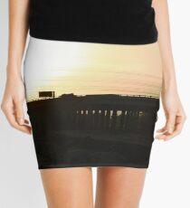 The Freeway At Sunset Mini Skirt