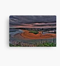 NORTH NARRABEEN HDR Canvas Print