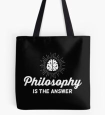 Philosophy Vintage Tote Bag