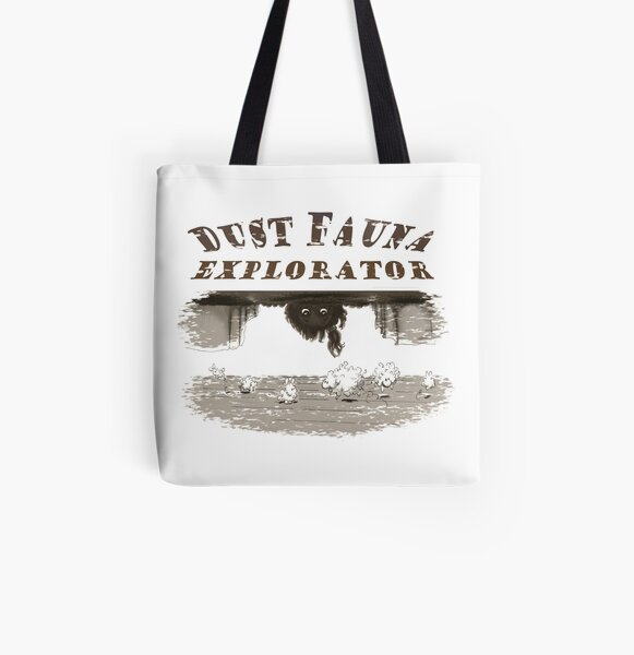 Dust Fauna Explorateur Tote bag doublé
