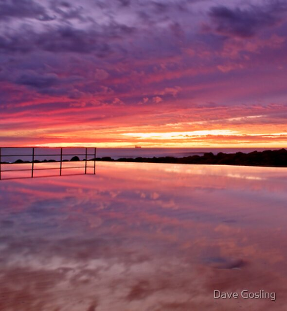 Ocean Bathes by Dave  Gosling Photography