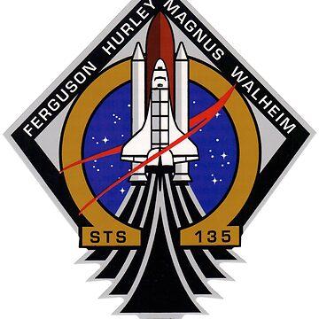 STS-135 Mission Patch by Quatrosales