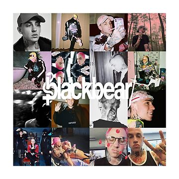 blackbear collage w/ logo by ryanmckane