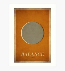Balance Druid - WoW Minimalism Art Print