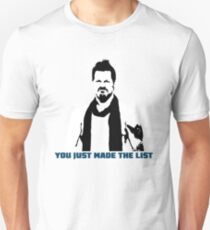 Chris Jericho You Just Made The List Unisex T-Shirt