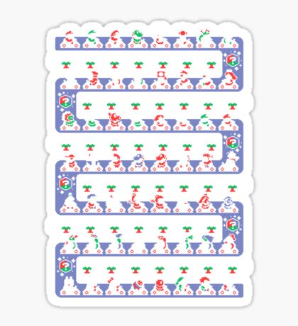 SUPER HOLIDAY KART Sticker