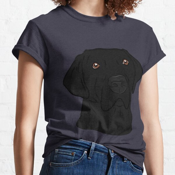 Handsome Black Labrador Retriever  Classic T-Shirt