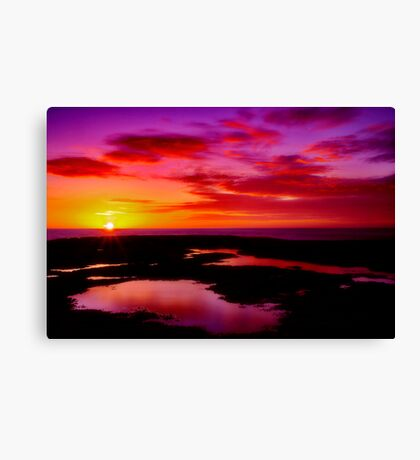 """Dawn Splendour"" Canvas Print"