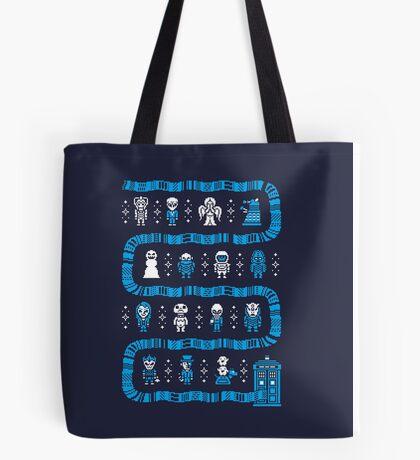 WHO'S OUTSIDE Tote Bag
