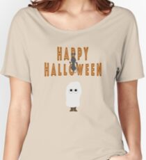 Glückliches Halloween-Kinderdesign Loose Fit T-Shirt