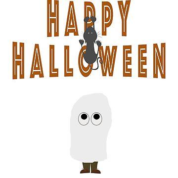 Happy Halloween kid design by jhussar
