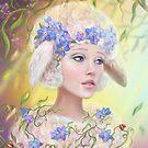 Schaffrau Fantasie potrtait von Alena Lazareva