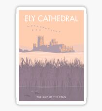 Ely Cathedral Sticker