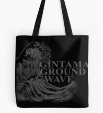 Gintama Ground Wave cadeaux de style vintage. Tote bag