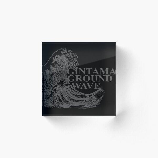 Gintama Ground Wave vintage style gifts. Acrylic Block