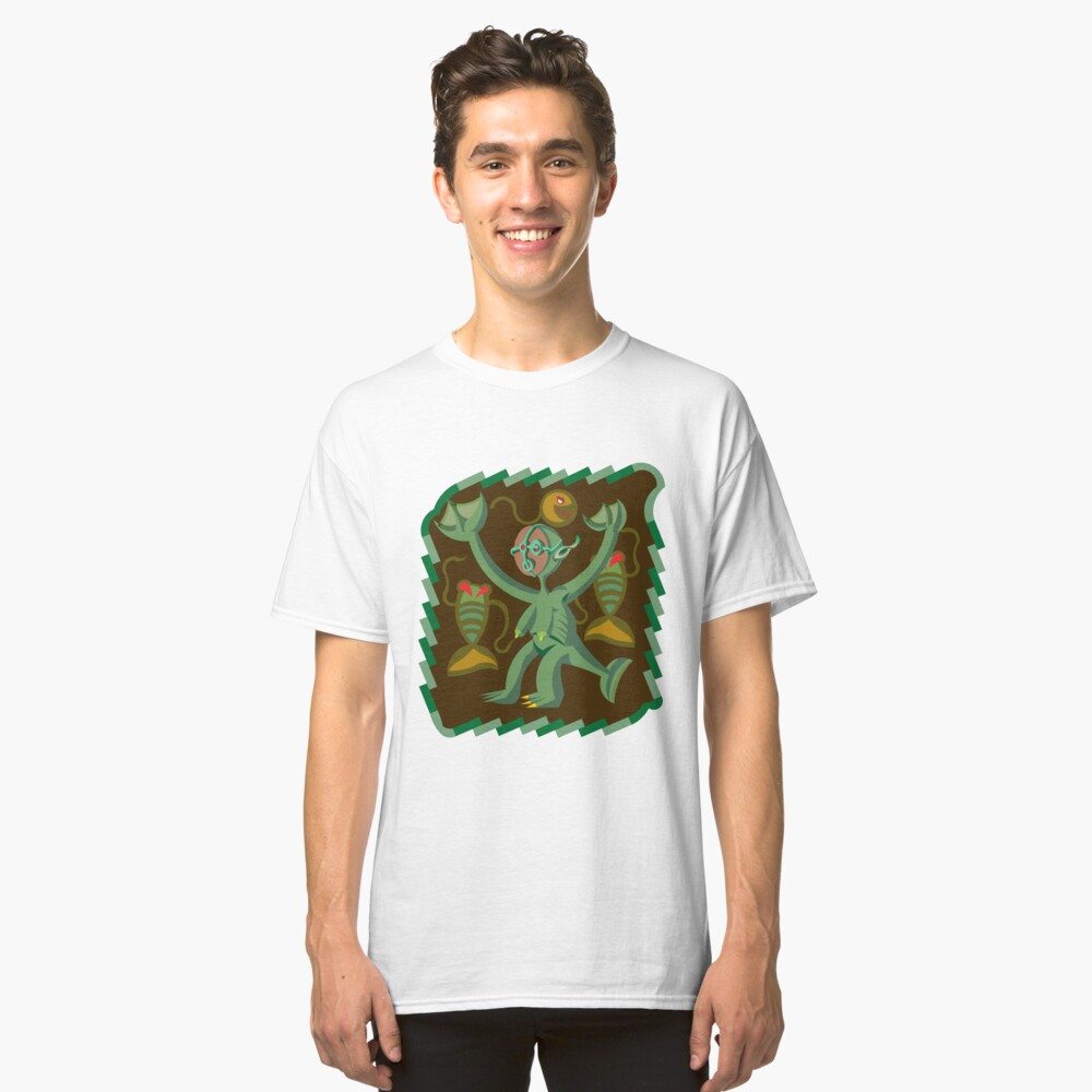 The Nommo are ancestral spirits worshipped by the Dogon people of Mali. Classic T-Shirt
