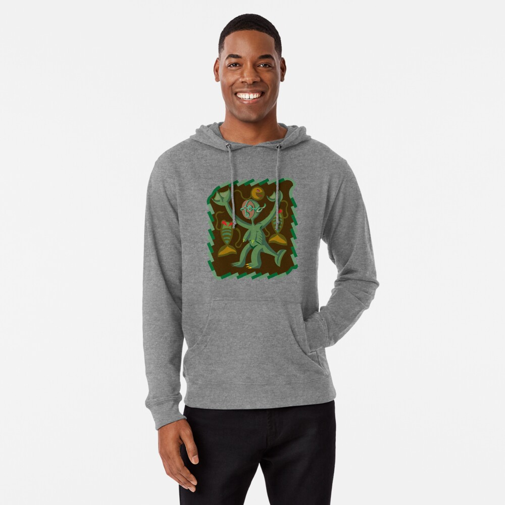 The Nommo are ancestral spirits worshipped by the Dogon people of Mali. Lightweight Hoodie