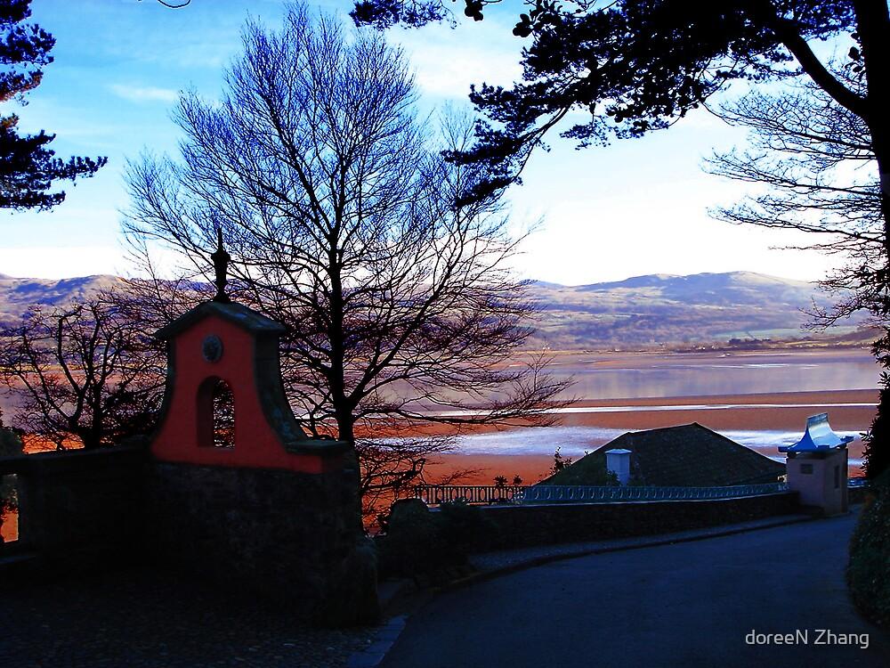 Evening Estuary by doreeN Zhang