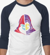 Ancient Hoods of Evil Men's Baseball ¾ T-Shirt