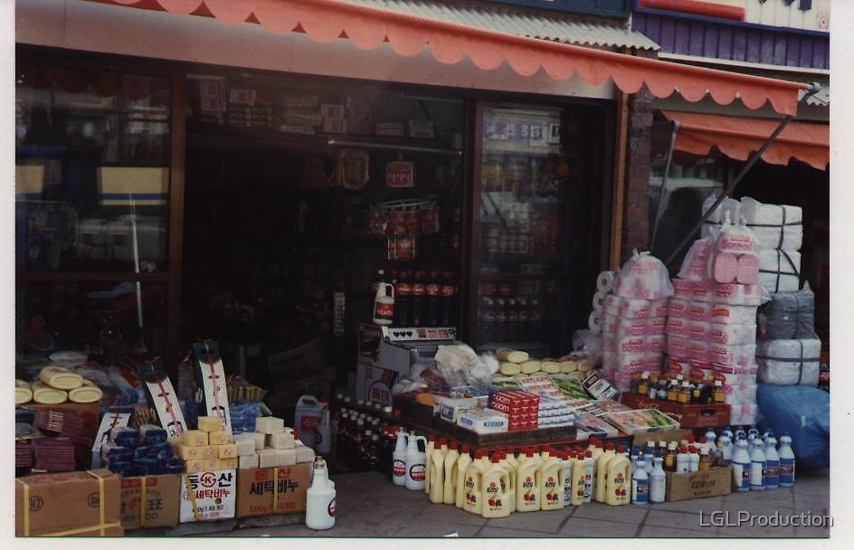 Korean Grocery  by LGLProduction