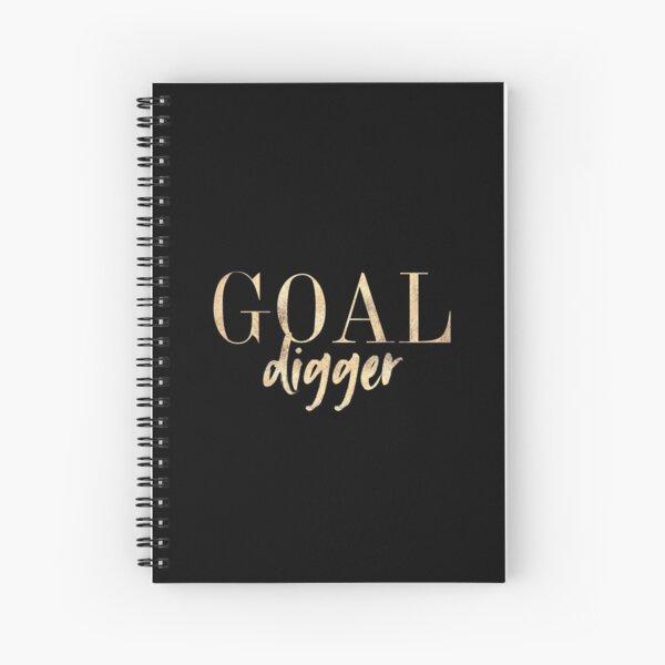Goal Digger Spiral Notebook
