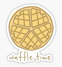 Waffle Time Sticker