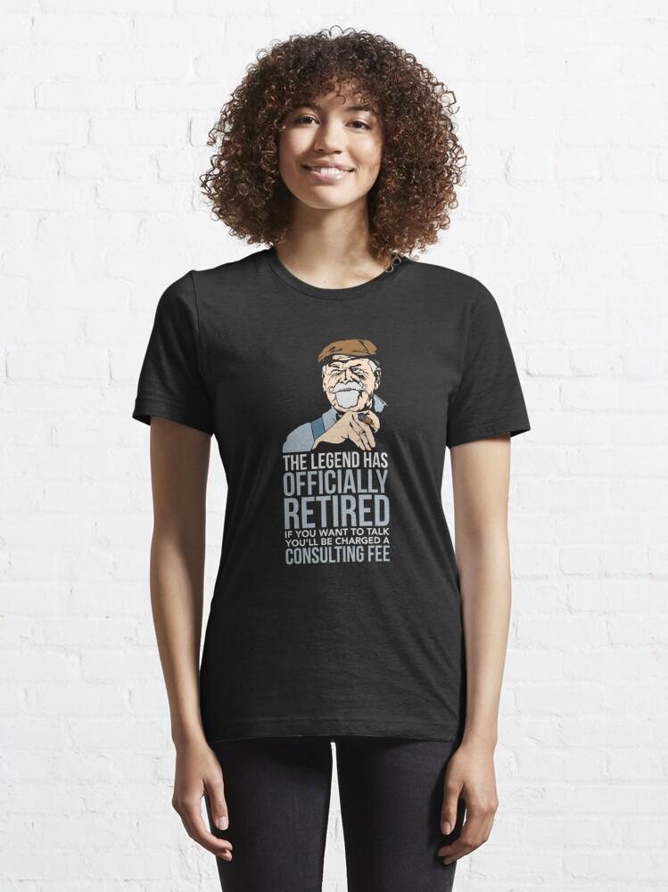 Alternative Ansicht von The Legend Has Retired - Funny Retirement Gift Essential T-Shirt
