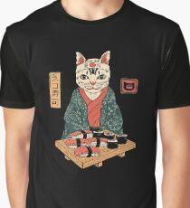 Neko Sushi Bar Graphic T-Shirt